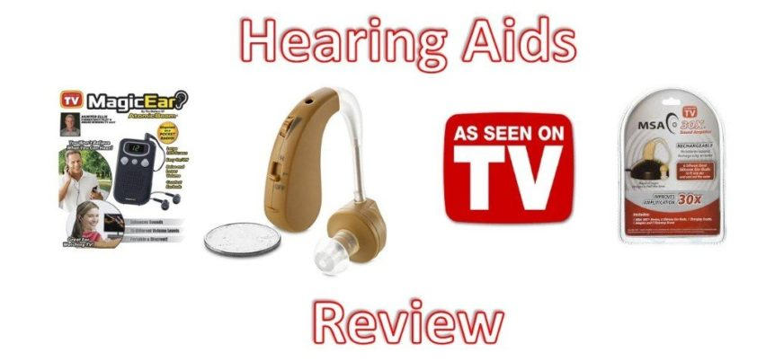 As Seen on TV Hearing Aid: Review